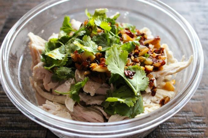 Shredded Chicken Salad Ingredients