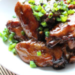 Sugar Braised Chicken Wings