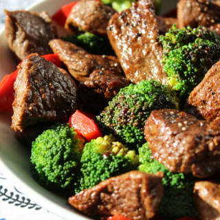 Tasty Beef and Brocolli Finish