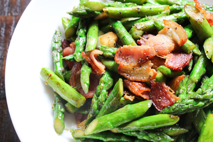 Easy Bacon and Asparagus | Spice the Plate