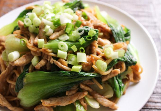 Easy Stir-fry Lo Mein