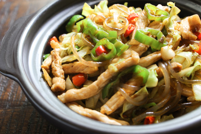 Tasty Stir-fried Rice Noodle