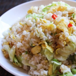 Cabbage fried rice 2
