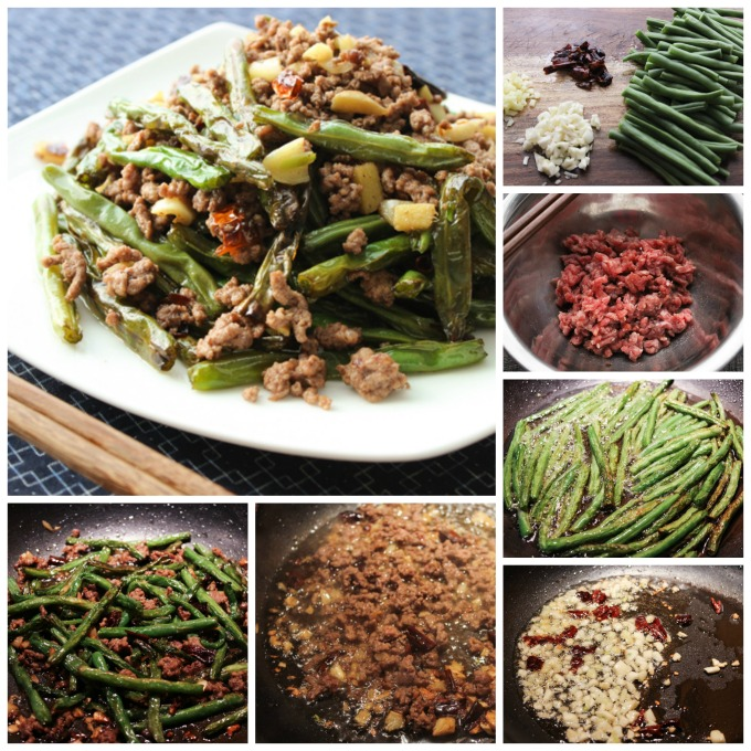How to make Spicy Ground Beef and Breen Beans