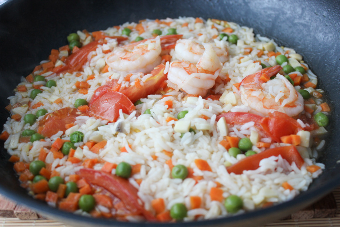 Shrimp Simmered Rice-4