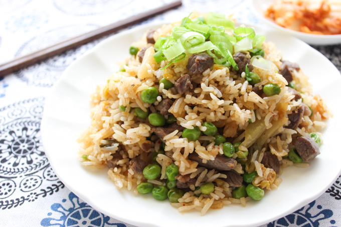 Beef and Kimchi Fried Rice