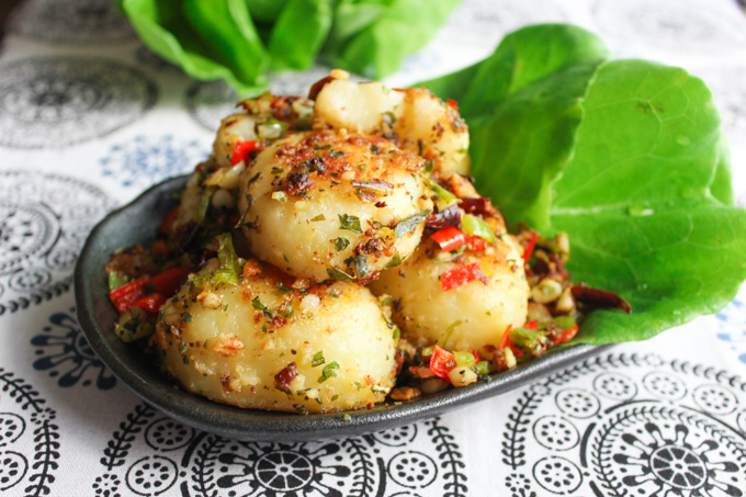 Cumin Pan-seared Potato