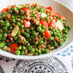 Pork with English Green Peas