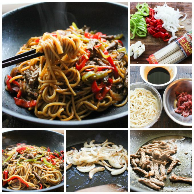 How to make Beef Lo Mein