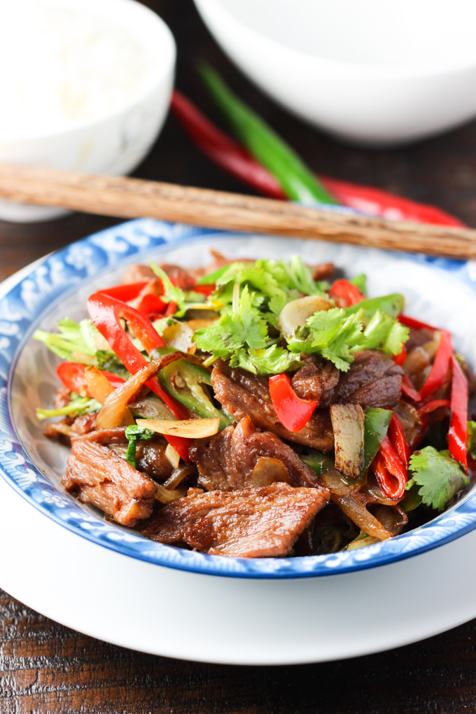 Beef and Onion Stir-fry-6