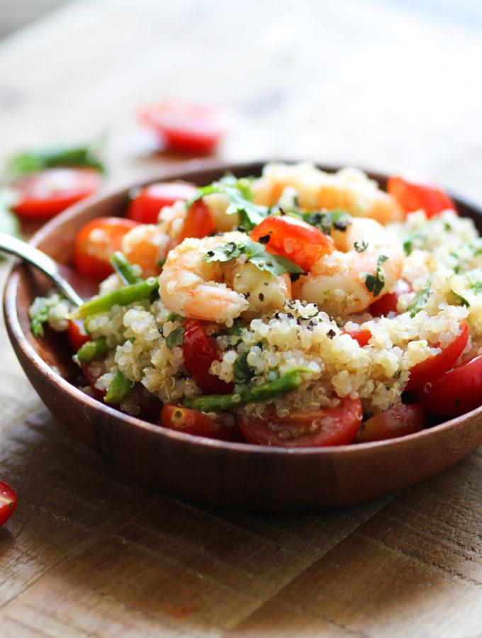 Shrimp and Asparagus Salad