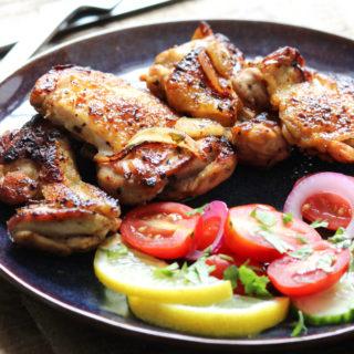 Pan-fried Lemon Chicken
