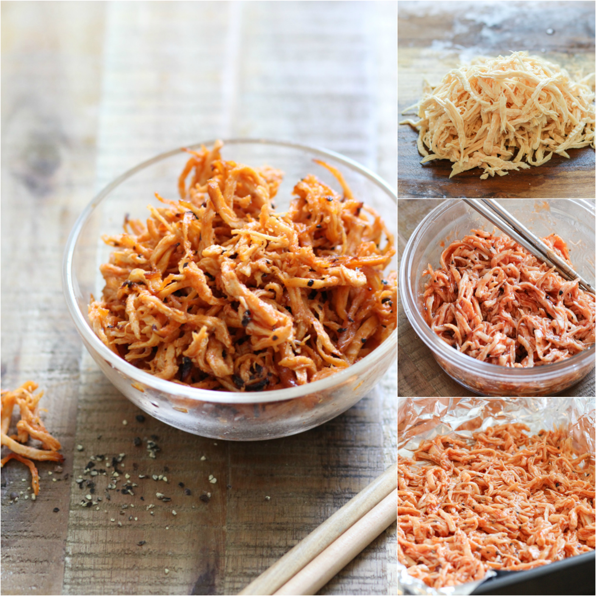 how-to-make-baked-shredded-chicken-snack