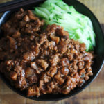 Home Style Meat Sauce Noodle (Zha Jiang Mian)