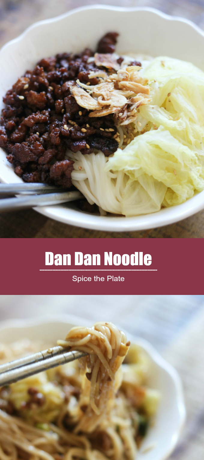 Dan dan noodle spice the plate for Am asian cuisine