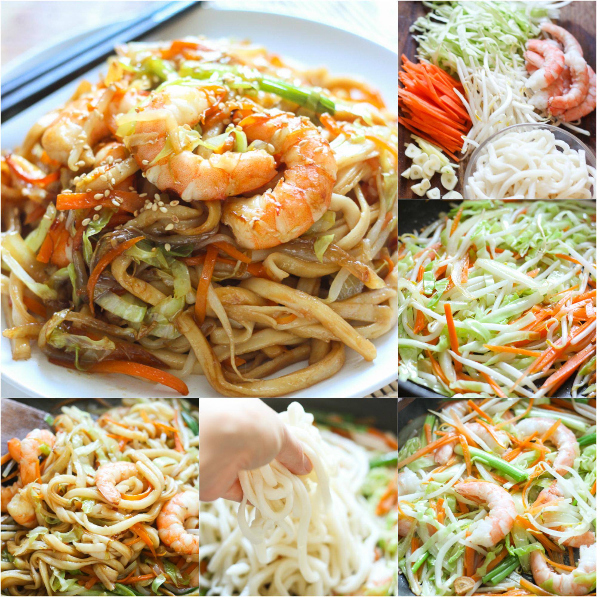 how-to-make-stir-fried-udon-with-shrimp