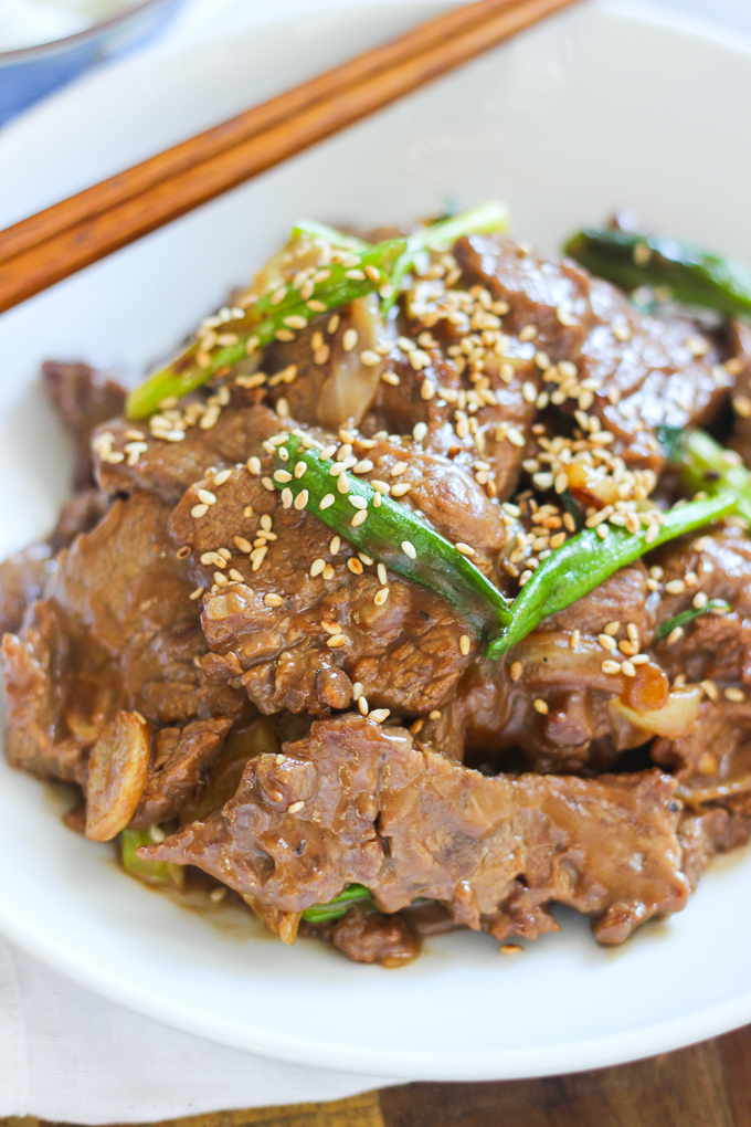 mongolian beef stir fry  spice the plate