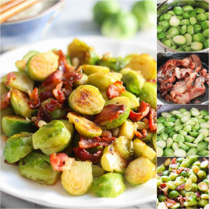 How to make Bacon with Russell Sprouts