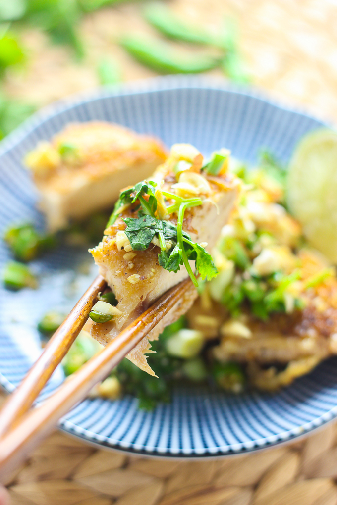Cilantro Thai Chicken Breast with Lime