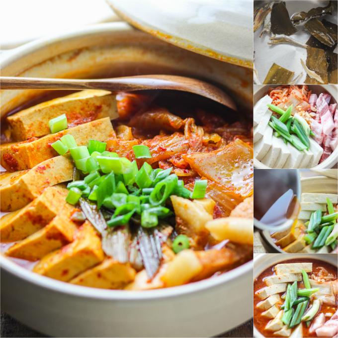 How to make Pork Belly Kimchi Stew