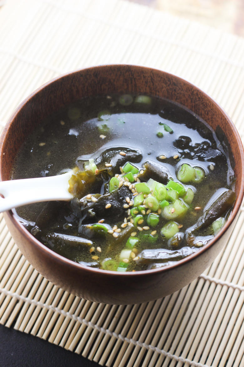 Korean Seaweed Soup feature