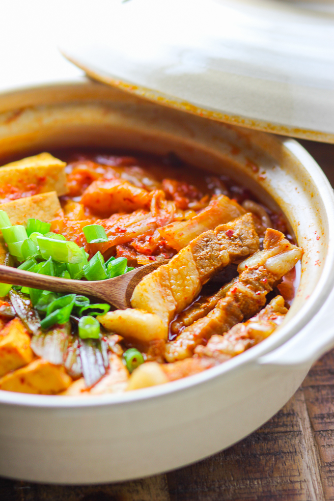 Pork Belly Kimchi Stew Spice The Plate