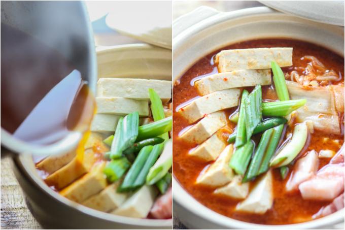 Pork Belly Kimchi Stew Step Two