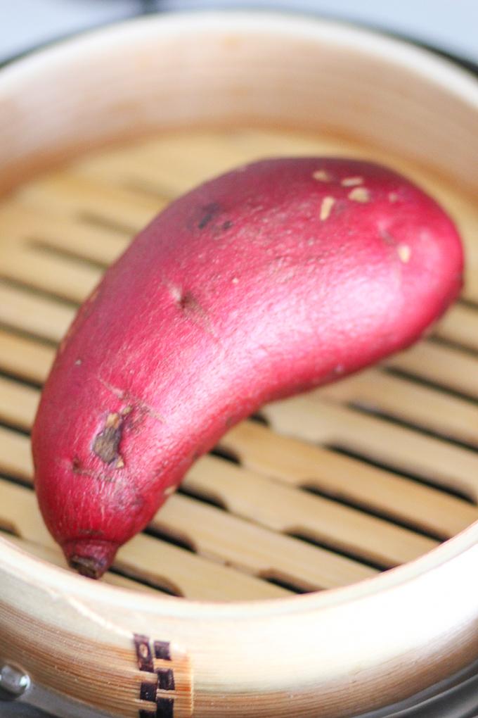 Steamed Sweet Potato