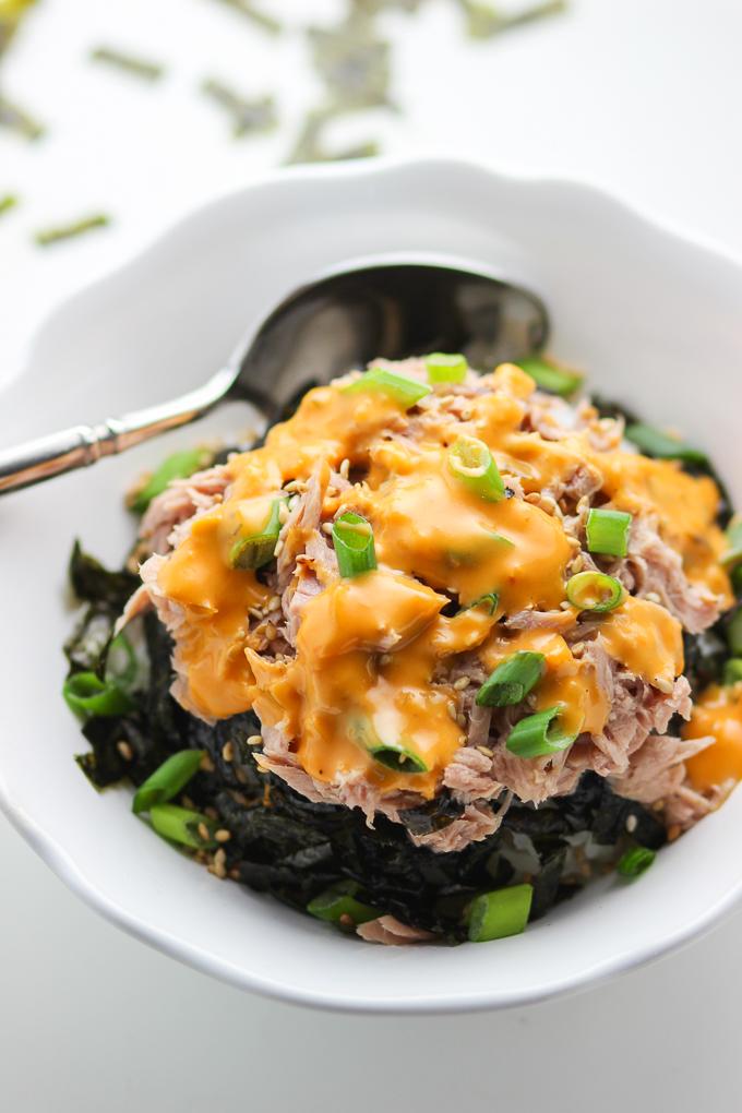 Tuna Rice Bowl | College Recipe