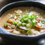 Korean Soybean Paste Soup