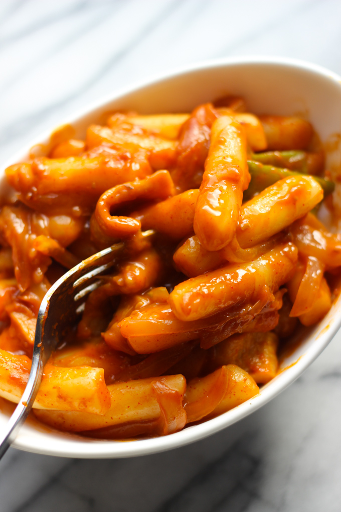 Korean Spicy Rice Cake Near Me