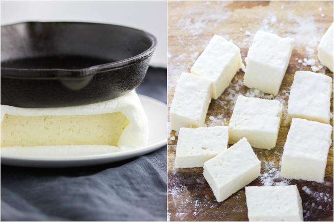 How to prepare tofu before cooking
