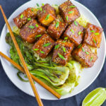 Soy-Brown Sugar Glazed Pan-fried Tofu