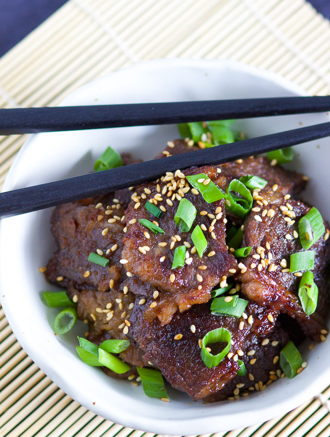 Korean BBQ Short Ribs (Bulgogi) Image