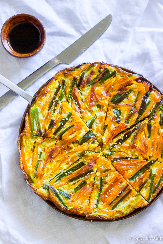 Chinese-style Pumpkin Omelette- Image
