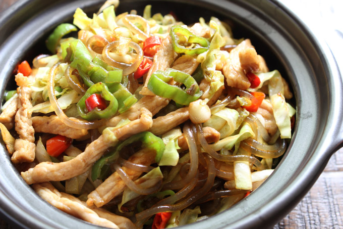 Tasty Stir-fried Rice Noodles