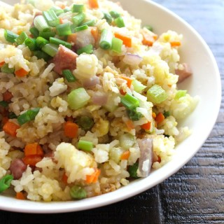 Chinese Fried Rice with Ham 1