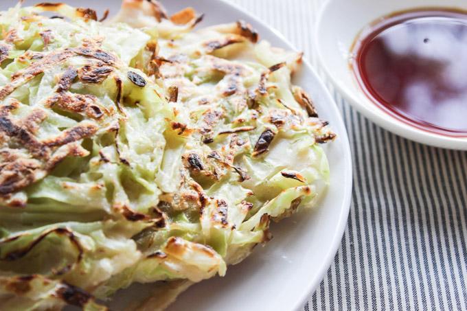 Easy Cabbage Pancake