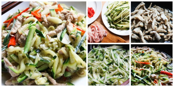 How to Make Pork with zucchini