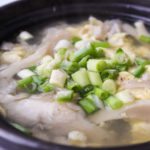 Quick Oyster Mushoom Soup