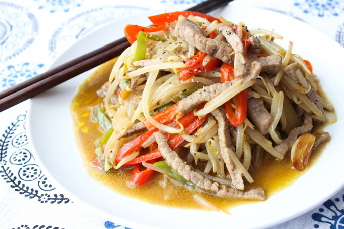Tasty beef and bean sprouts (11 of 12)