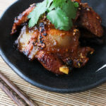 Korean style pan-fried pork belly recipe