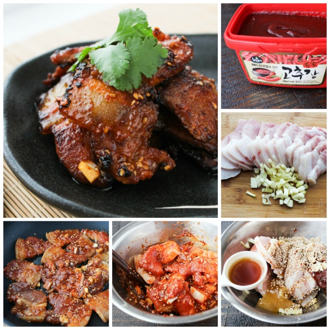 How To Make Korean Style Pan Fried Pork Belly