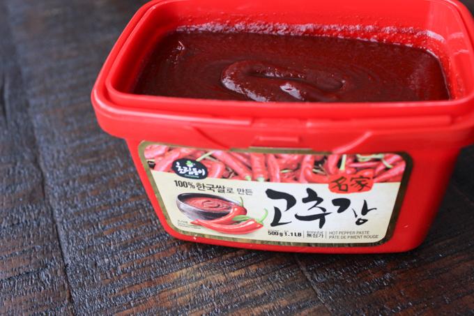 Korean chili sauce