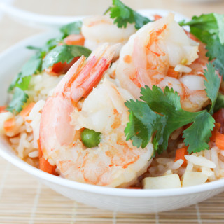 Shrimp Simmered Rice