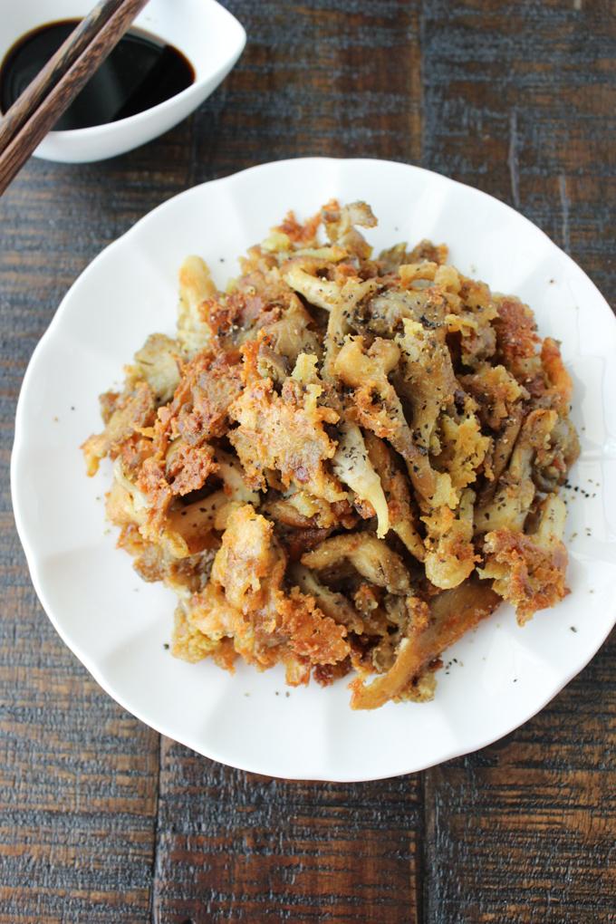 Fried Mushroom Snack