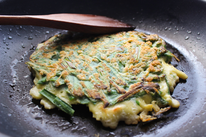 Cook the Chive Pancake