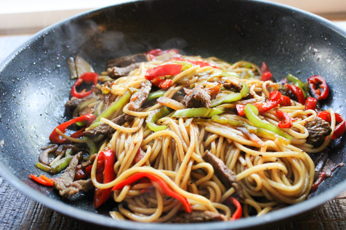 Beef Lo Mein-7