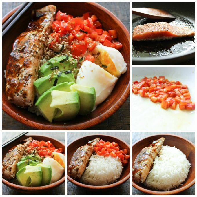 How to make Salmon Lunch Box