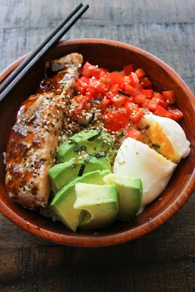 Salmon Lunch Box